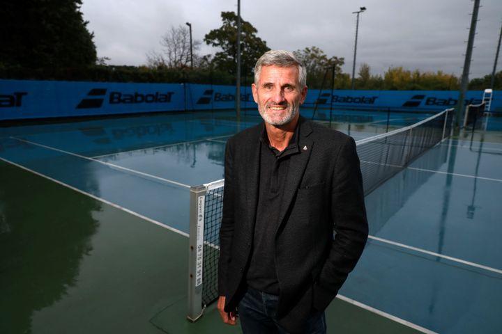 Gilles Moretton, le 6octobre 2020 à Villeneuve-les-Avignon (Gard). (REY J?R?ME / MAXPPP)