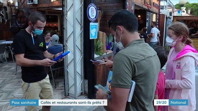 Pass sanitaire : il sera obligatoire dans les restaurants et cafés dès le 9 aout