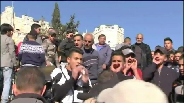 Tension à Jérusalem après la prière