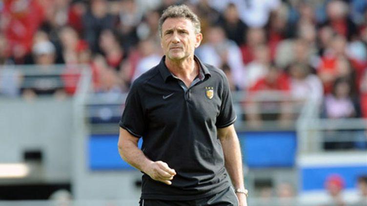 L'entraîneur du Stade Toulousain, Guy Novès