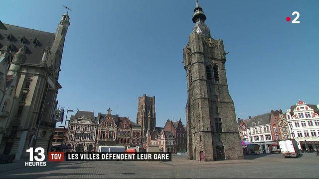 TGV : les villes défendent leur gare