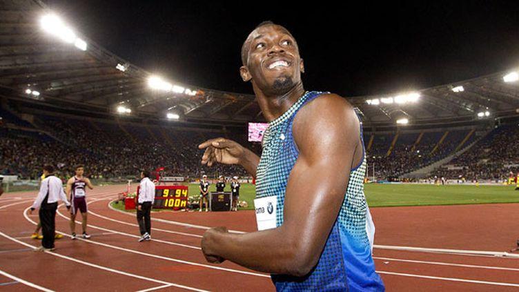 L'athlète jamaïquain Usain Bolt