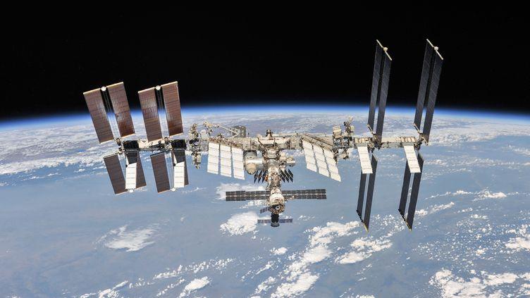 La Station spatiale internationale. Photo d'illustration. (- / NASA/ROSCOSMOS / AFP)