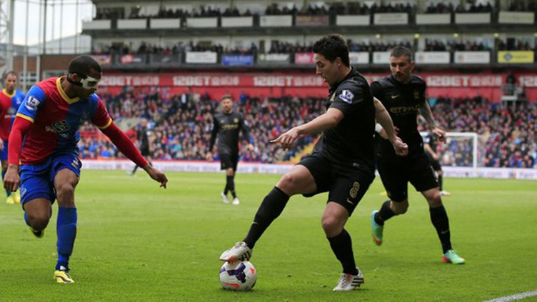 Samir Nasri (Manchester City) (ADRIAN DENNIS / AFP)