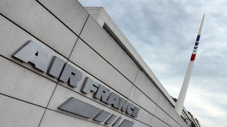Les locaux d'Air France à Roissy (Val-d'Oise), le 21 juin 2012. (JACQUES DEMARTHON / AFP)