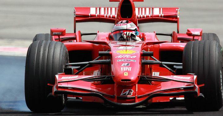 Kimi Raikkonen (Ferrari) champion du monde 2007
