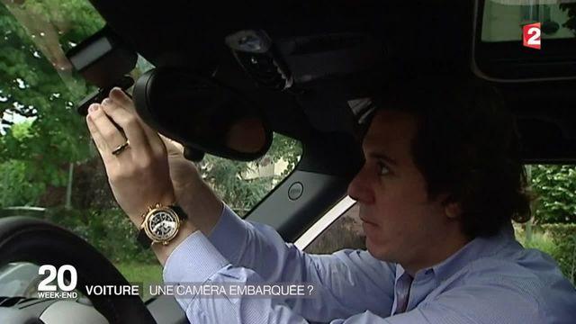 Des caméras embarquées bientôt dans toutes les voitures françaises?