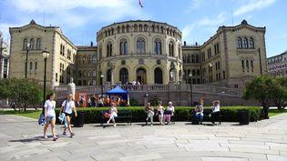 La Parlement à Oslo (Norvège). (KLAUS NOWOTTNICK / DPA)
