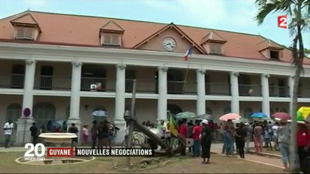 Guyane : nouvelles négociations
