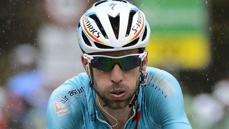 Le coureur italien Vincenzo Nibali