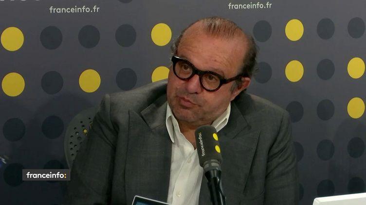 Hervé Temime, avocat à Paris, fondateur et président d'honneur de l'association des avocats pénalistes sur franceinfo lundi 3 juin 2019.  (FRANCEINFO)