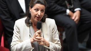Agnès Buzyn, la ministre de la Santé et des Solidarités, lors d'une session de questions au gouvernement à l'Assemblée nationale, le 12 juin 2018. (ALAIN JOCARD / AFP)