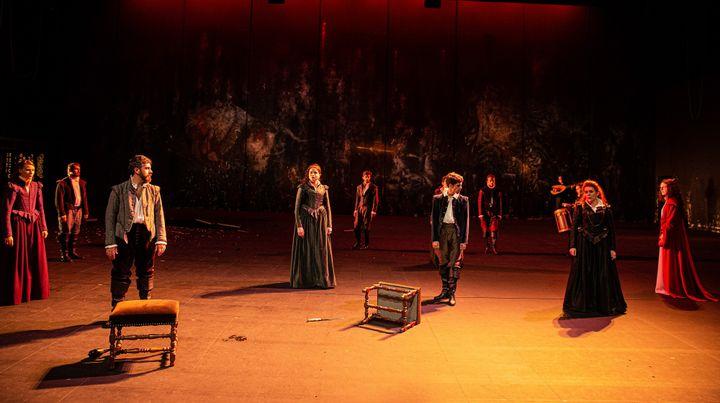"""Hippolythe-Phèdre"" mise en scène Chrisian Schiaretti au TNP Villleurbanne (MICHEL/CAVALCA)"