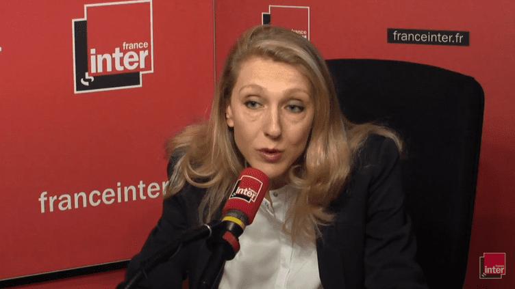 La PDG de Radio France, Sibyle Veil, le 5 juin 2018. (RADIO FRANCE / FRANCE INTER)