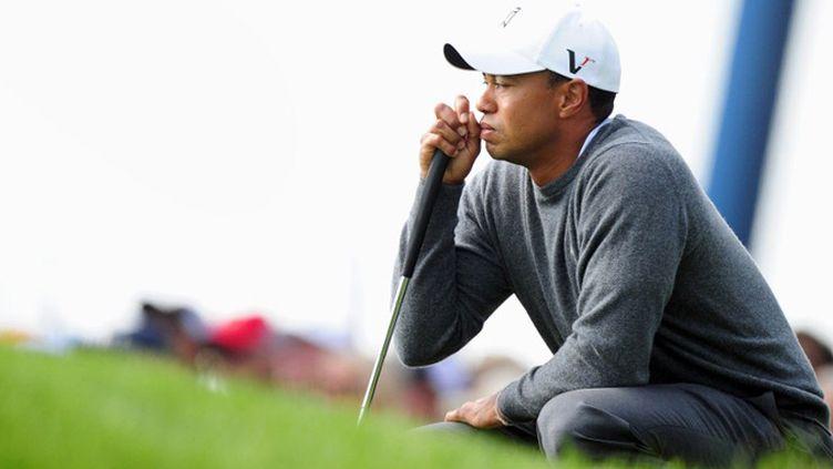 Tiger Woods en pleine concentration