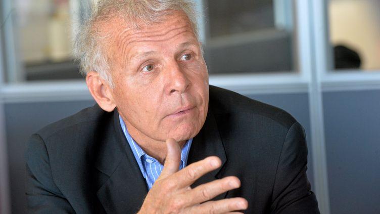 Patrick Poivre d'Arvor àSaint-Jean-de-Védas (Hérault), le 15 mars 2019. (MAXPPP)