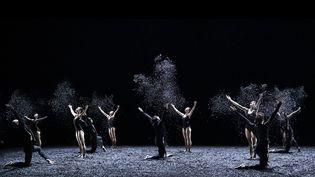 """""""Winterreise"""", chorégraphie d'Angelin Preljocaj, présentée fin septembre àAix-en-Provence. (J-C CARBONNE)"""
