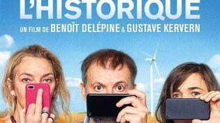 """L'affiche de """"Effacer l'historique"""" deGustave Kervern, Benoît Delépine (détail). (Copyright Imdb)"""