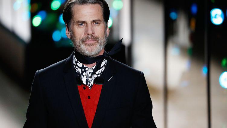 Dior automne-hiver 2018-19 à la Paris Fashion Week, en janvier 2018 (PATRICK KOVARIK / AFP)