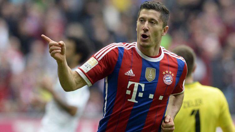 Le buteur du Bayern, Robert Lewandowski