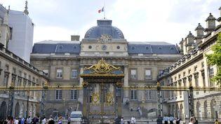 L'entrée du palais de justice de Paris, le 27 février 2017. (ALAIN LE BOT / PHOTONONSTOP)