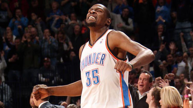 Le joueur d'Oklahoma Kevin Durant