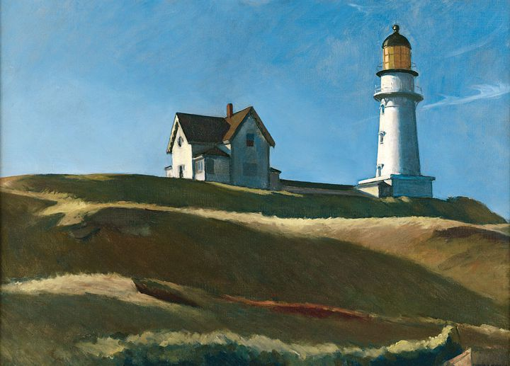 Edward Hopper, Lighthouse Hill, Dallas Museum of Art, gift of Mr. and Mrs. Maurice Purnell  (Image courtesy Dallas Museum of Art)