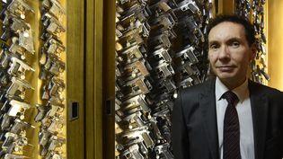 Frédéric Dupuch, à Paris, le 5 février 2016, alors qu'il étaitdirecteur de l'Institut national de police scientifique. (DOMINIQUE FAGET / AFP)