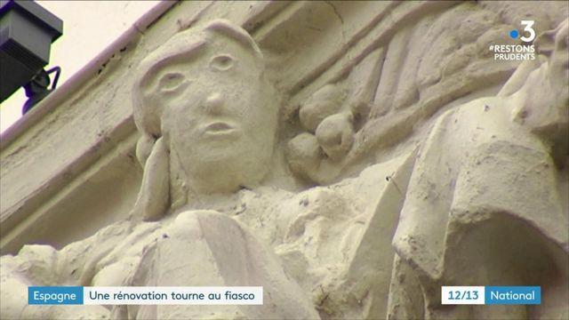 Espagne : à Palencia, la rénovation d'une statue tourne au massacre artistique