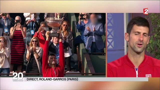 Roland-Garros : Novak Djokovic remporte le tournoi de ses rêves
