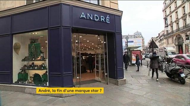 André, le vendeur de chaussures, est menacée de disparition