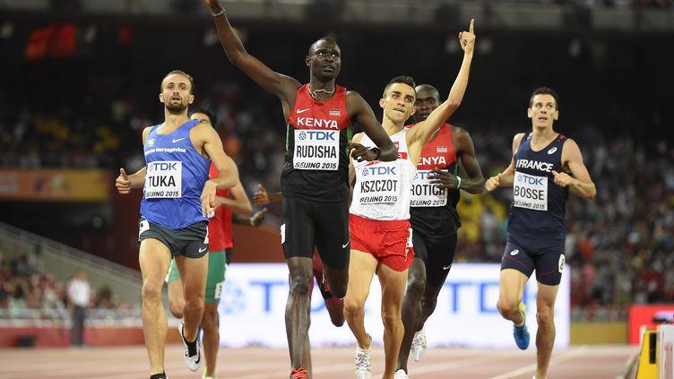 David Rudisha champion du monde, Pierre-Ambroise Bosse 5e (OLIVIER MORIN / AFP)