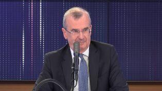 François Villeroy de Galhau, gouverneur de la Banque de France, invité de franceinfo le 9 juin 2020. (FRANCEINFO / RADIOFRANCE)