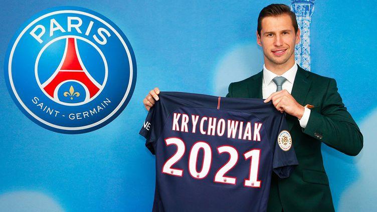Grzegorz Krychowiak s'est engagé jusqu'en 2021 avec le PSG, en provenance de Seville