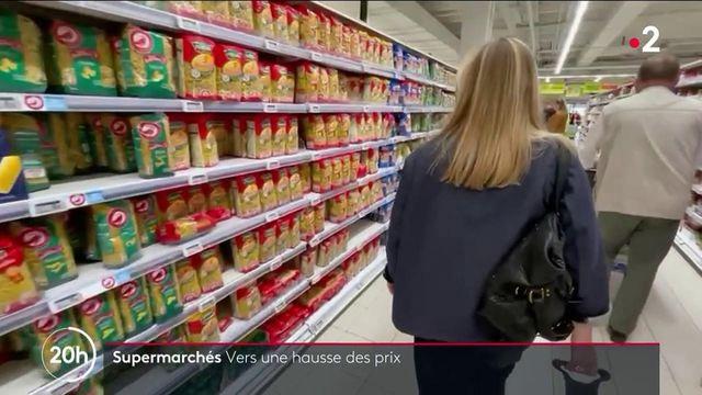 Grandes surfaces : hausse des prix de plusieurs produits du quotidien