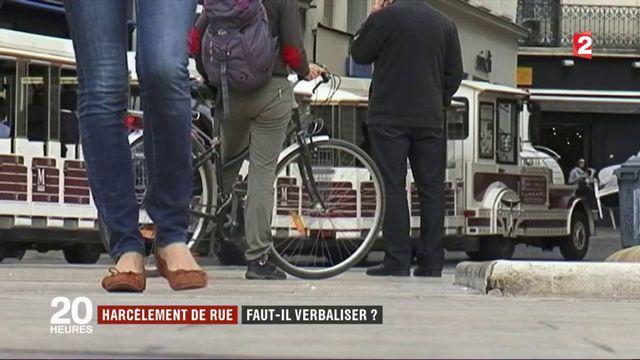 Harcèlement de rue : vers une verbalisation des contrevenants ?