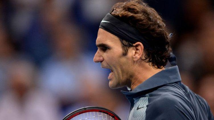 La rage de Roger Federer