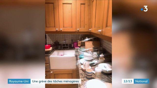 Royaume-Uni: une mère de famille partage sa grève des tâches ménagères sur Twitter et éveille les consciences