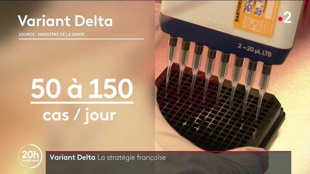 Variant Delta : la stratégie française pour ralentir sa progression
