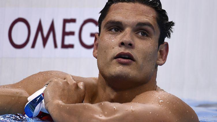 Le nageur tricolore, Florent Manaudou (CHRISTOPHE SIMON / AFP)