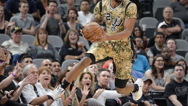 Le joueur des Spurs, Kawhi Leonard (DARREN ABATE/AP/SIPA / AP)