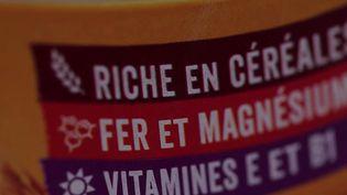 """""""Céréales complètes"""", """"faibles en calories"""" ou encore """"riches en fibres""""sontdesaffirmations que l'on retrouve régulièrement sur les étiquettes. (CAPTURE ECRAN FRANCE 2)"""