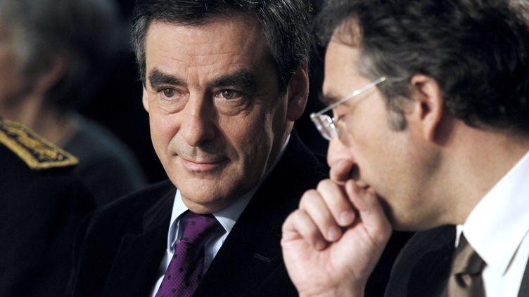 Le Premier ministre François Fillon aux rencontres de Royaumont (Oise), le 4 décembre 2011. (THOMAS SAMSON / AFP)
