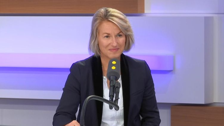 Anne Rigail, directruce générale d'Air France. (RADIO FRANCE)