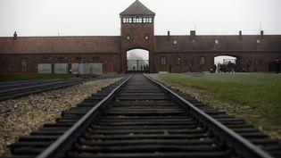 Lecamp d'extermination d'Auschwitz-Birkenau (Pologne), le 17 novembre 2014. (MAXPPP)