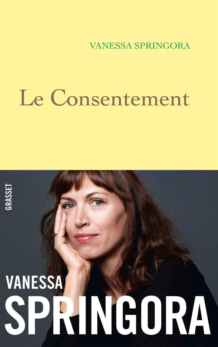 """Couverture du livre de Vanessa Springora, """"Le Consentement"""" (janvier 2020) (GRASSET)"""