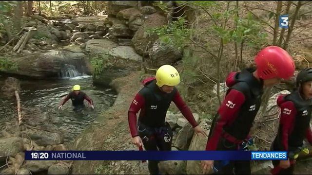 Corse : le canyoning, une activité recherchée