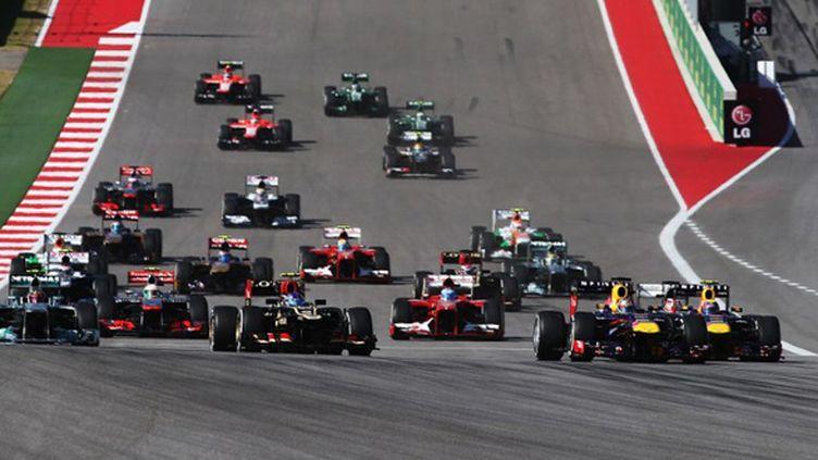 Le départ d'un Grand Prix (MARK THOMPSON / GETTY IMAGES NORTH AMERICA)