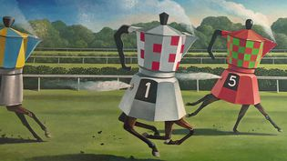 Les peintures de Jérôme Bailly exposées et mises en vente sur internet (France 3 Centre)