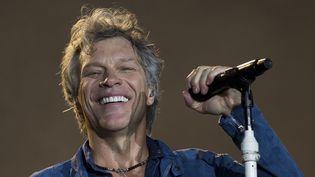Jon Bon Jovi à Rock in Rio en septembre 2017.  (Mauro Pimentel / AFP)